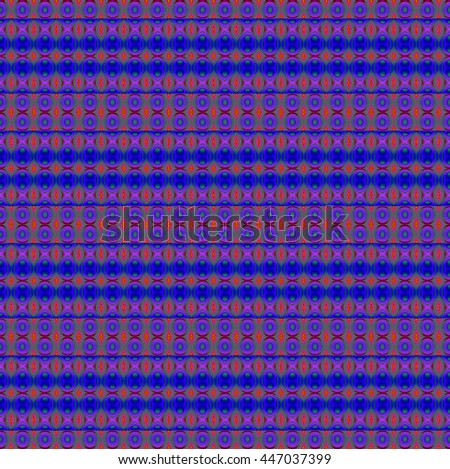 Abstract geometric seamless background. Extensive regular ellipses and circles pattern violet, purple, dark blue and pale green. - stock photo