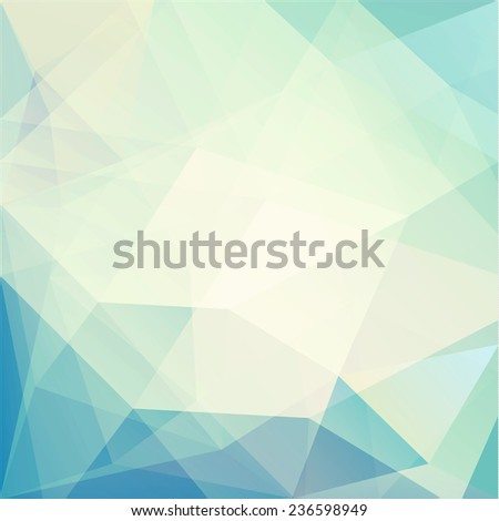 Abstract geometric triangles background - stock photo