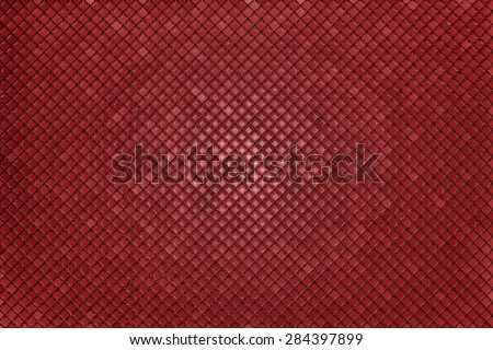 Abstract geometric triangles in a square red background illustration