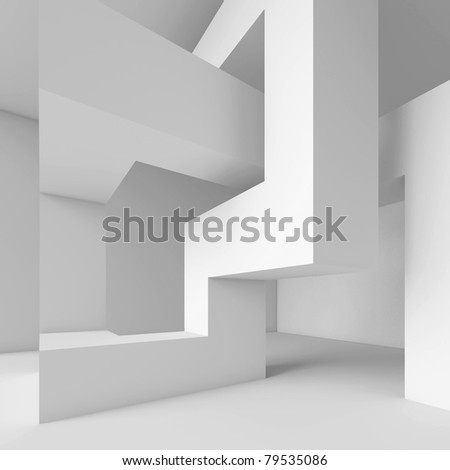 Abstract Geometric Wallpaper - stock photo