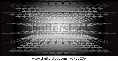 Abstract geometrical background.