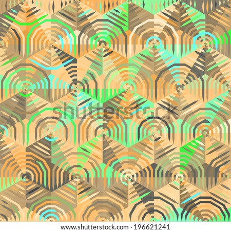 Abstract Geometrical Multicolored Background,   Raster Version - stock photo