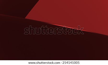 abstract geometry background made of  smooth shapes laying one on another