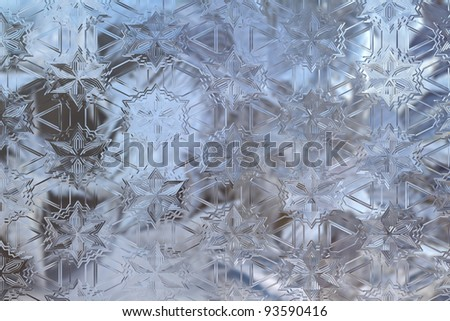 abstract glass background texture from the windows - stock photo