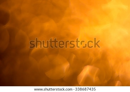 Abstract Glitter Defocused Background With Blinking Stars. Blurred Bokeh for Christmas - stock photo