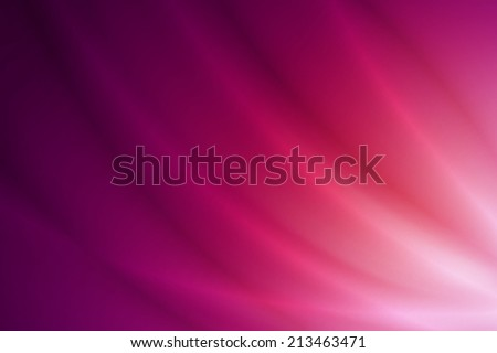 abstract glossy line on white to purple gradient background - stock photo