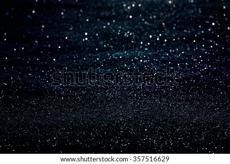 abstract glowing dark blue copyspace universe background - stock photo