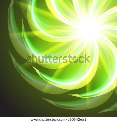 elements of glowing flowers - photo #20