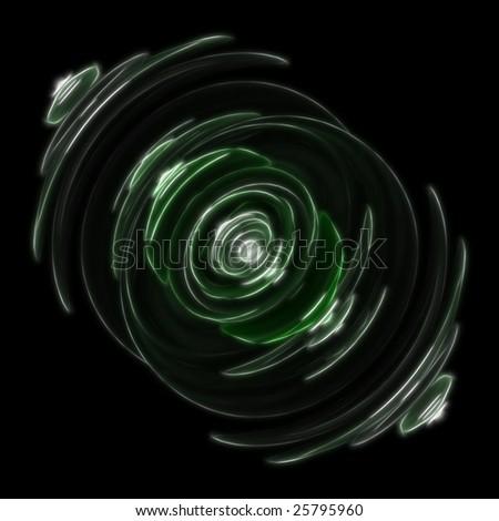 Echo Ring Glowing Green
