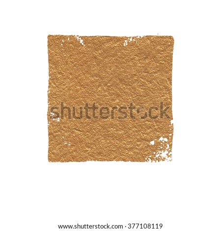 Abstract gold acrylic background. Template for your text.