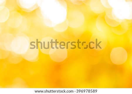 abstract gold background. Elegant abstract background with bokeh defocused lights - stock photo