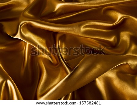Abstract gold background luxury cloth - stock photo