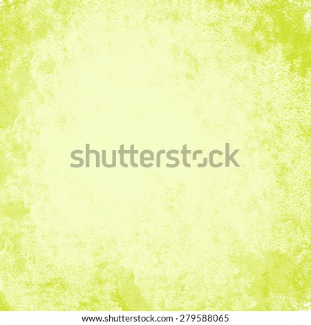 abstract gold background warm yellow color tone, vintage background texture faint grunge sponge design border, yellow paper or website template background design layout, fall autumn background image - stock photo