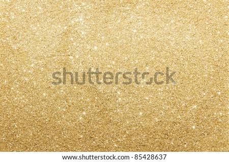 Abstract gold background with copy space - stock photo