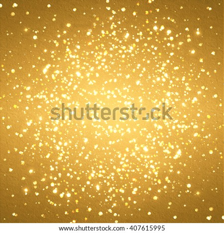 abstract gold background with some sparkles