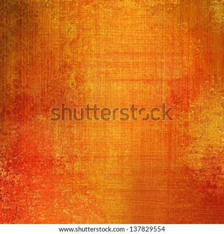 Abstract Gold Background Yellow Brush Scratch Marks Or Thread Linen Canvas Material Texture Old Rough Vintage