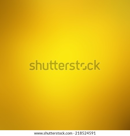 Abstract gold background. Yellow rich bright sunny color with smooth texture  - stock photo