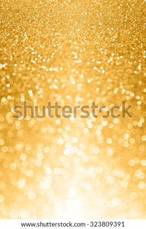 Abstract gold glitter sparkle luxury background party invite - stock photo