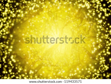abstract golden background - stock photo