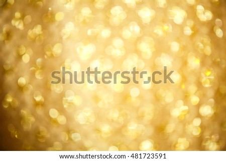 Abstract golden background by traditional thai fabric