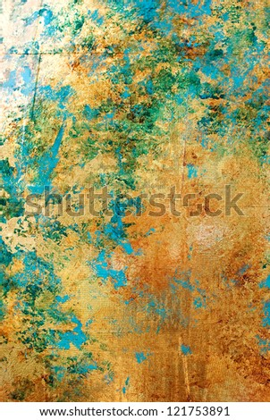 abstract golden background texture close up - stock photo