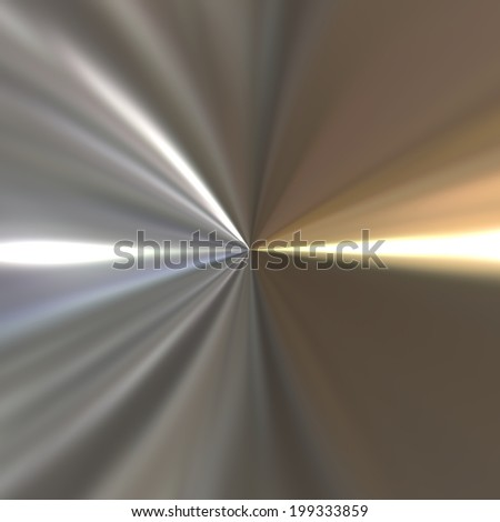 Abstract golden chrome background. - stock photo