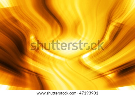 Abstract Golden Composition