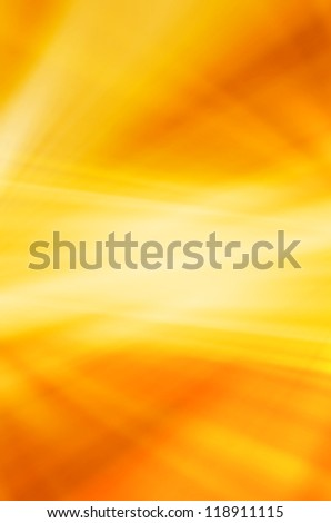 abstract golden curves background - stock photo