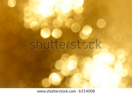 Abstract golden glow light background - stock photo
