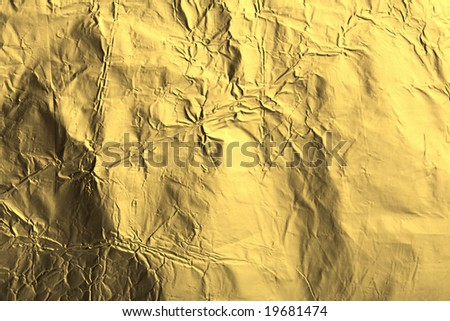 abstract golden metal texture background - stock photo
