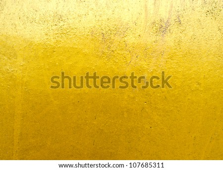 Abstract golden texture - stock photo