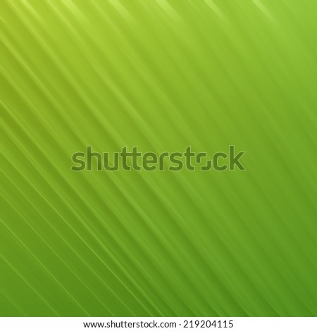 Abstract gradient background with green in palm leaf  structure. Plisse palm leaf. - stock photo