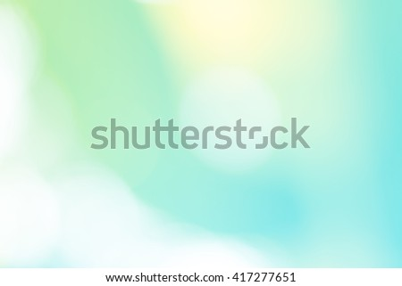 Abstract Gradient Desktop Wallpaper Soft Sweet Background With Natural Bokeh