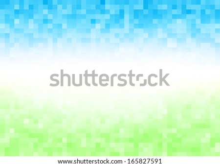 Abstract gradient pixel colorful pattern background - stock photo
