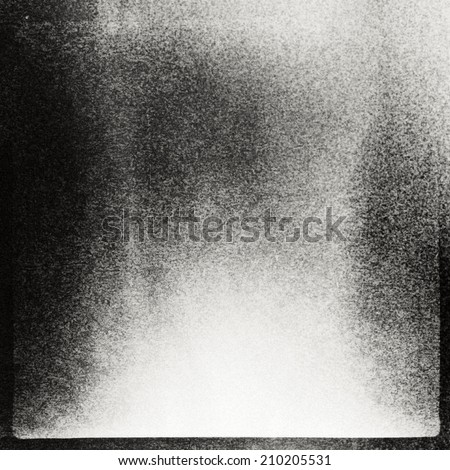 Abstract grained film strip texture. Contains grain, dust and light leaks. - stock photo