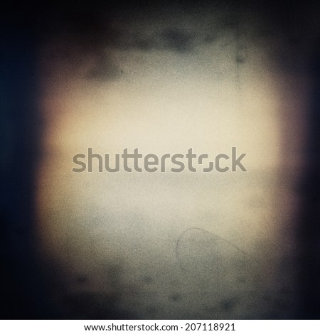 Abstract grained grunge film strip texture - stock photo