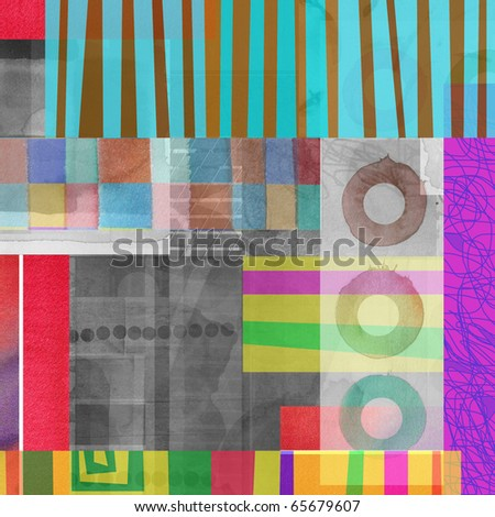 abstract graphic design background composition
