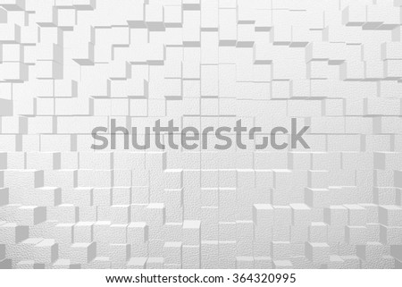 Abstract graphic illustration art design background effect 3d block extrude style
