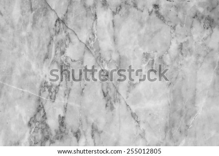 Abstract gray marble patterned texture background for design . Marbles of Thailand, Black and white. - stock photo