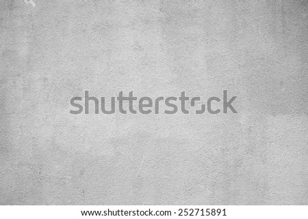 abstract gray smooth texture of concrete - stock photo