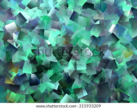 Abstract Green and Blue Design - stock photo