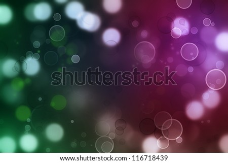 Abstract green and purple tone background - stock photo