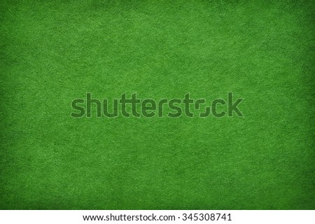 Abstract green background based on felt texture - stock photo