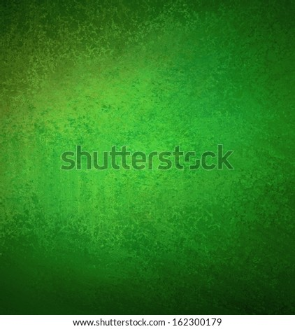 abstract green background Christmas paper of old distressed vintage grunge background texture layout or faded wall wallpaper or parchment for grungy rustic banner poster ad or website template back  - stock photo