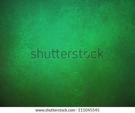 abstract green background grungy texture with black border frame, old vintage background grunge for elegant Christmas background or web template with distressed faded edges and blank solid copyspace - stock photo