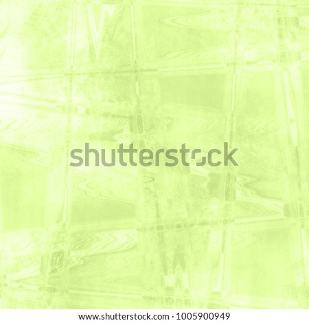 Abstract green background in fresh green spring watercolor