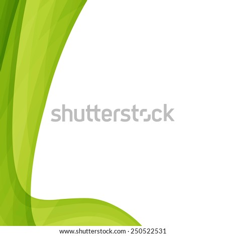Abstract green background or texture. design artworks, card. - stock photo