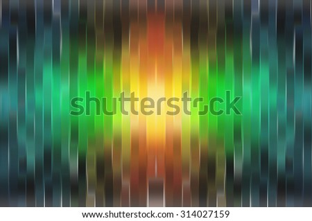 abstract green background. vertical lines and strips.