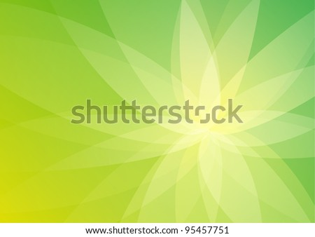 Abstract Green Background Wallpaper - stock photo
