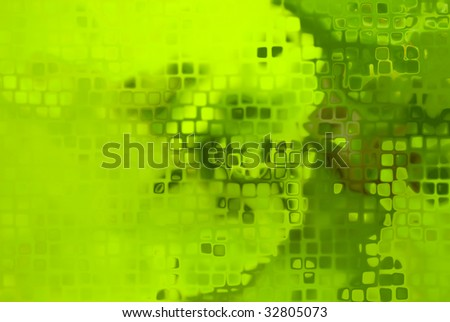 Abstract green background with a pattern